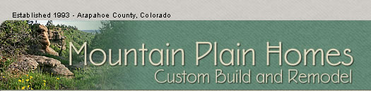 Mountain Plain Homes - Custom Home Builder for the Discriminating Buyer